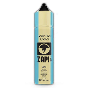 ZAP! VINTAGE - Vanilla Cola 50ml Short Filled + 10ml Nic Shot Booster | Vapemall NZ | VAPE NZ