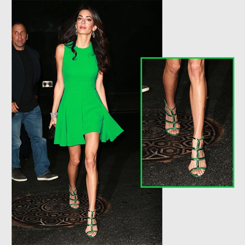 Celebrity Barrister, Amal Clooney with Bunions