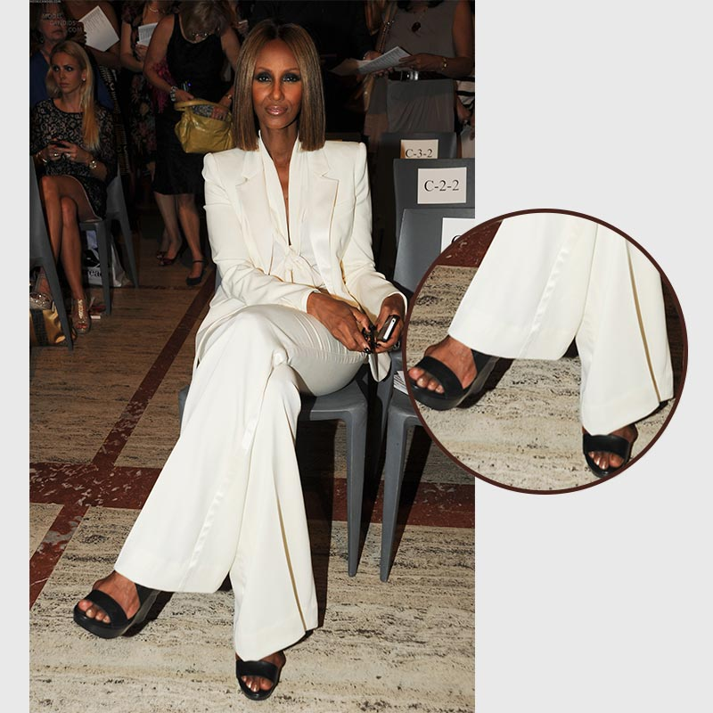 Iman Bowie Suffers from Bunions