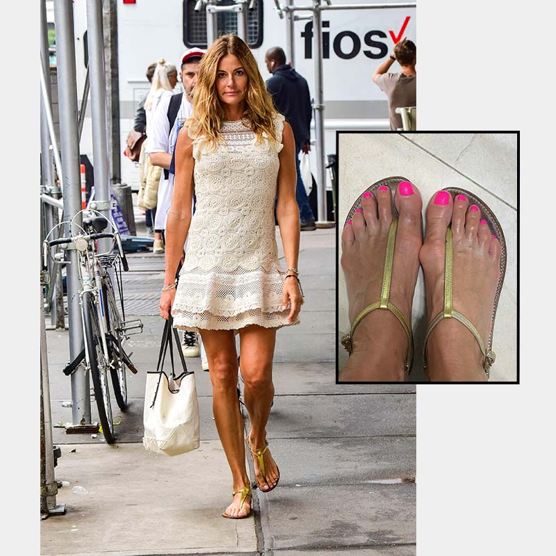 Desperate Housewives of New York Star has Bunions