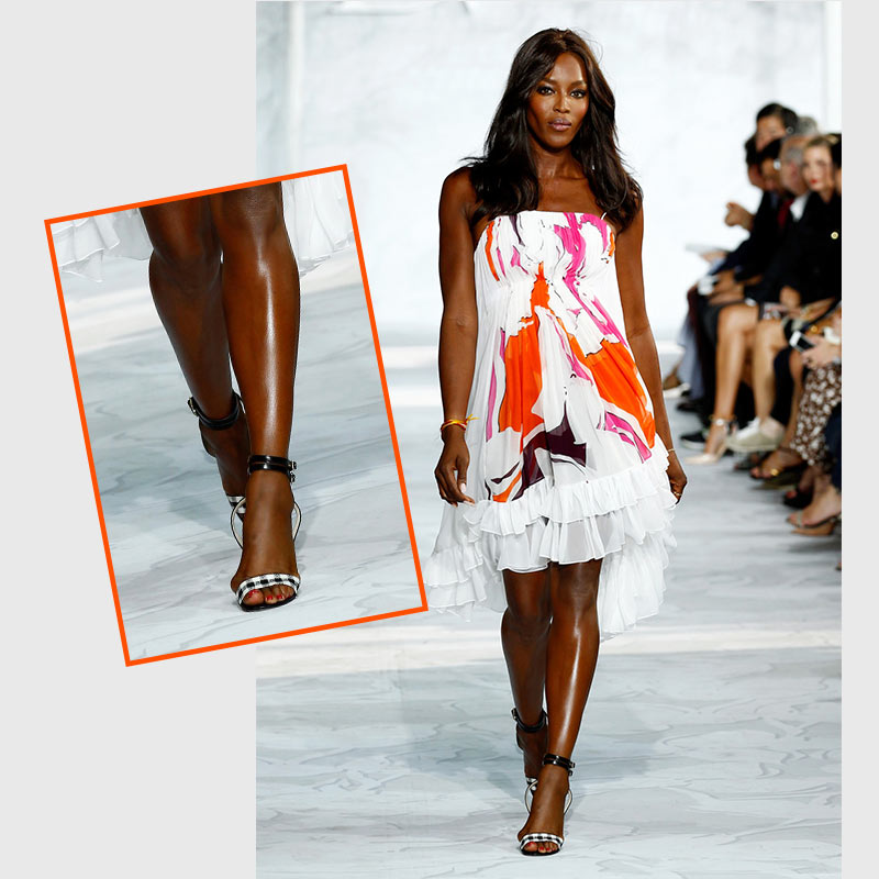 Supermodel, Naomi Campbell has Bunions