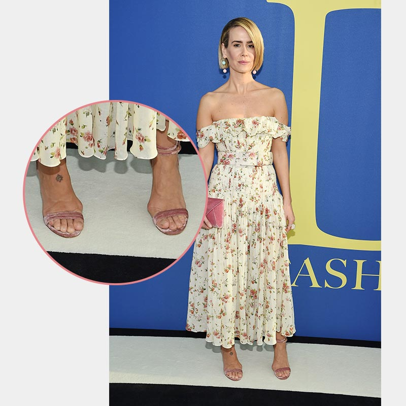 American Actress Suffers from Bunions