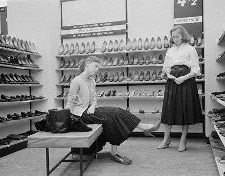 Vintage Shoe Shopping for Wider Feet