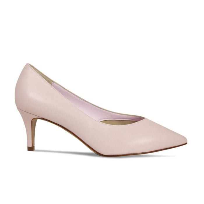 Sole Bliss Bridal Heel in Blush Leather for Bunion Sufferers