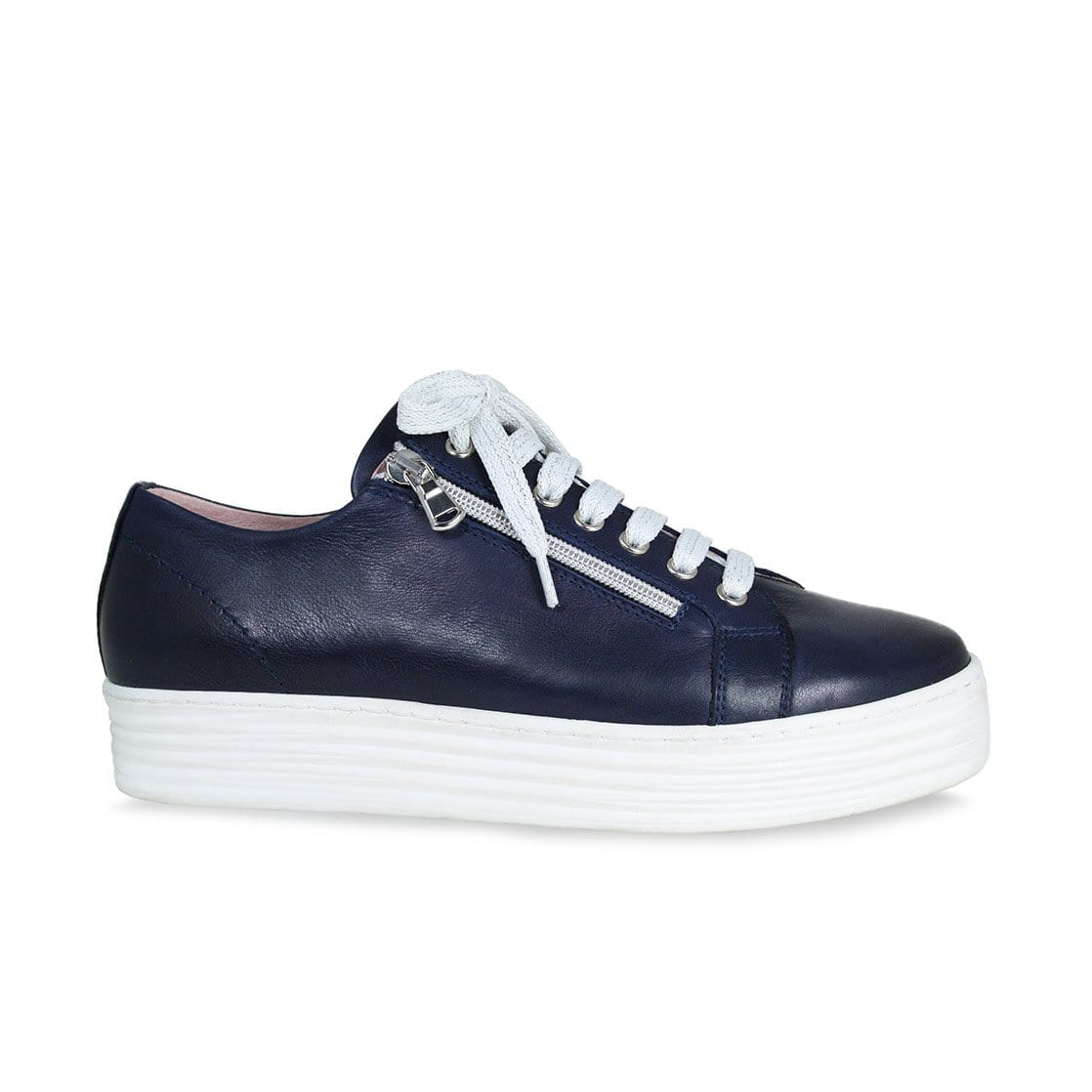 Hero: Navy Leather