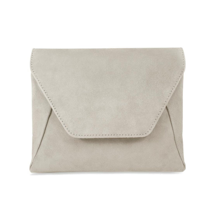 Pebble Suede Envelope Style Bag by Sole Bliss