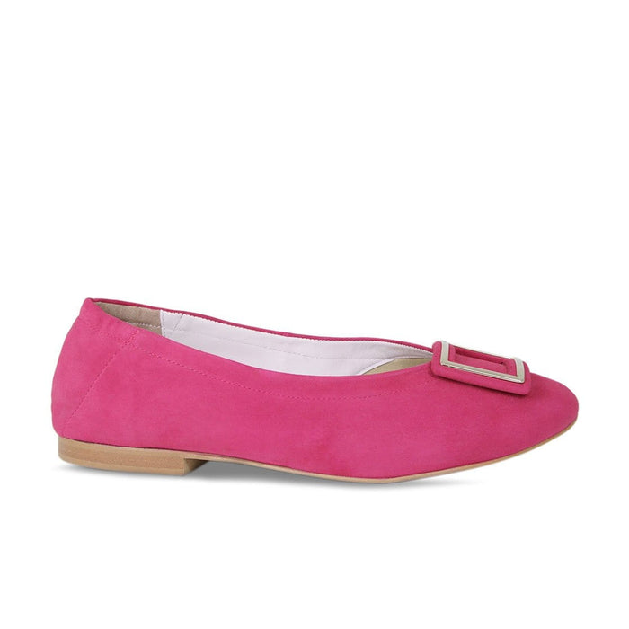 Cute Pink Suede Wide With Flats for Bunions