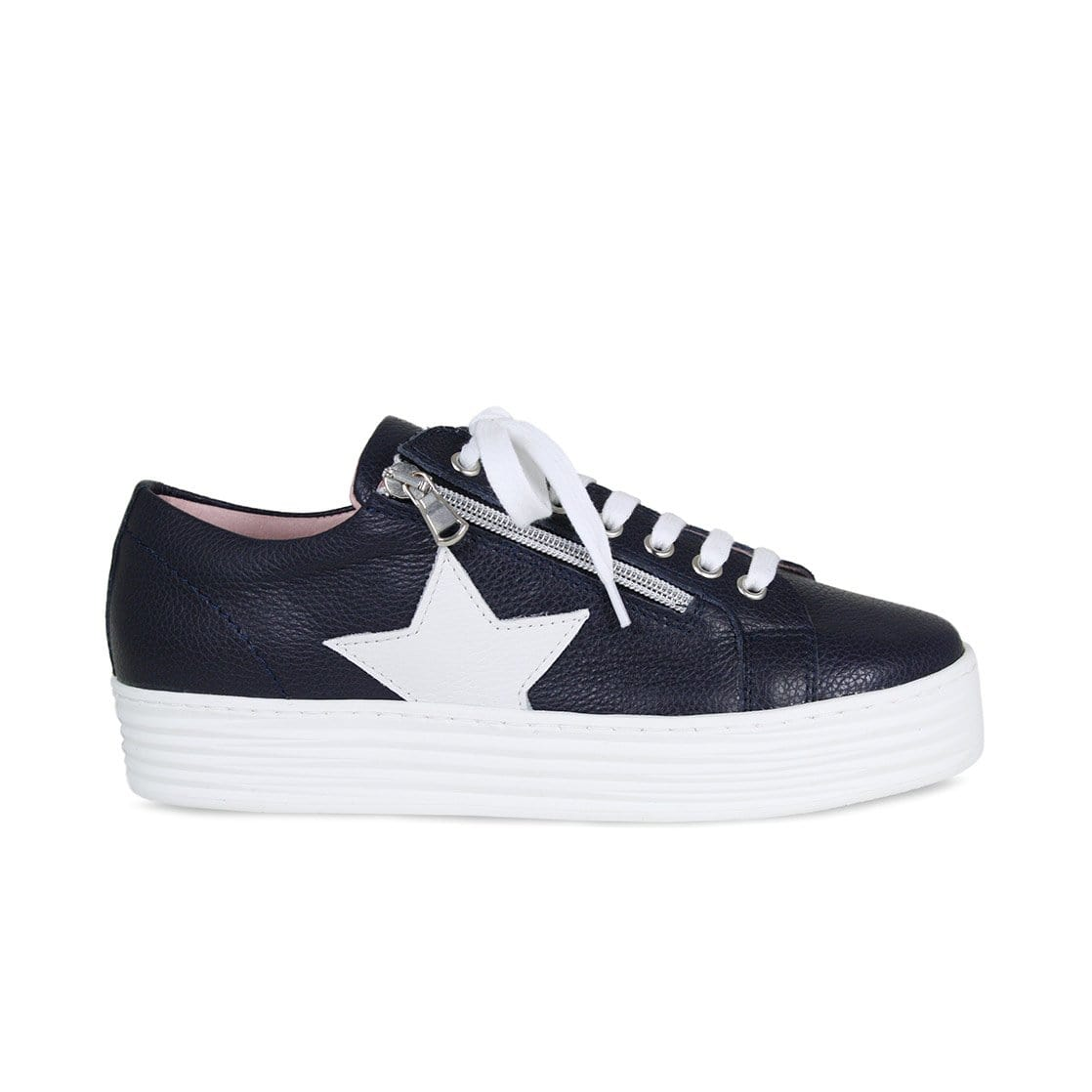 Star: Navy Leather