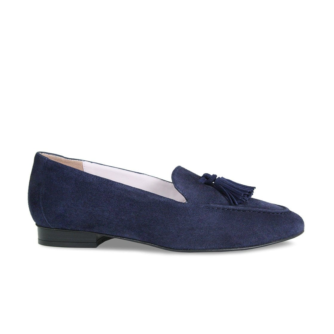 Tess: Navy Suede