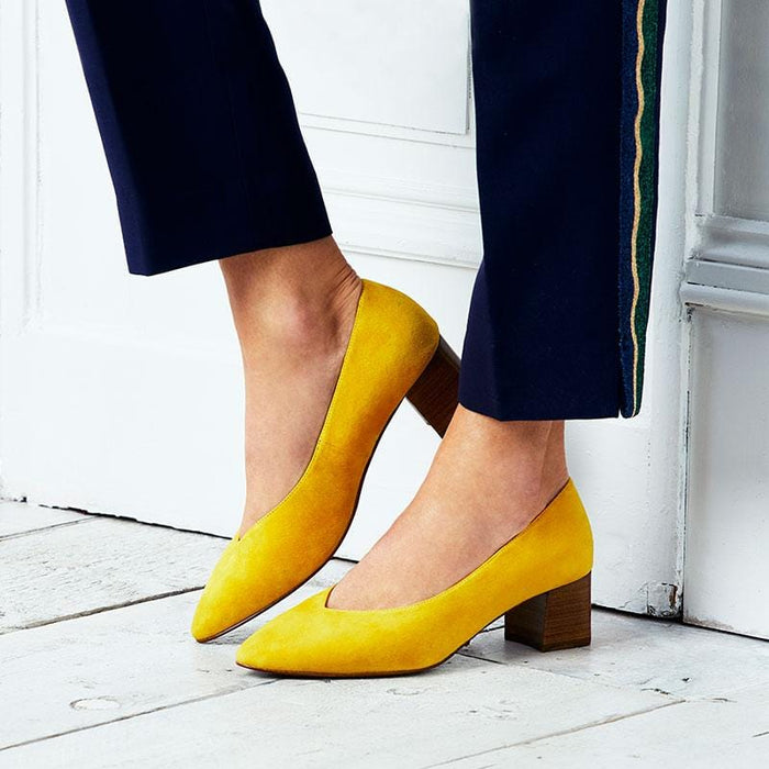 Ingrid: Yellow Suede