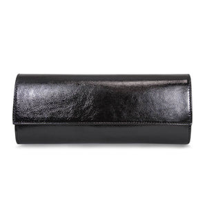 Black Patent Leather Classic Matching Clutch Bag