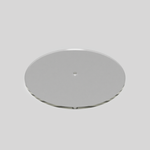 "10.5"" Acrylic Disk for cake decorating"