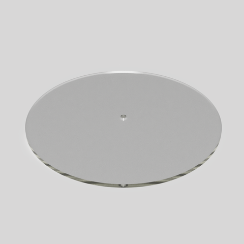 "12.5"" Acrylic Disk for cake decorating"