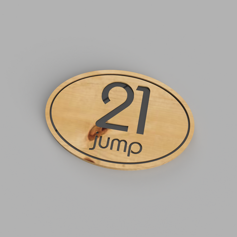 Custom Milled House Number Sign