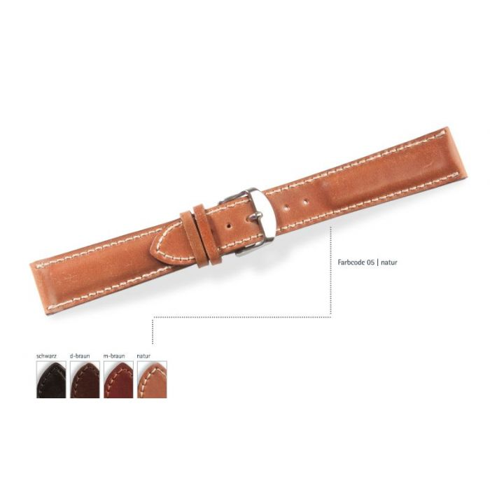 Manufaktur Uhrarmband Cordovan WHISKEY- Made in Germany