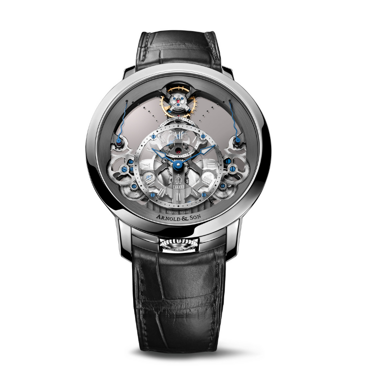 Brand New Luxury  Arnold & Son. Time Pyramid Manufaktur