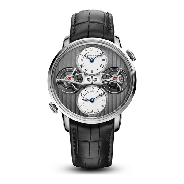 Brand New Luxury Arnold & Son DOUBLE TOURBILLION (DTE) Manufaktur