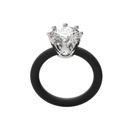 LE CORONE Classic Solitaire Ring ANCL01W