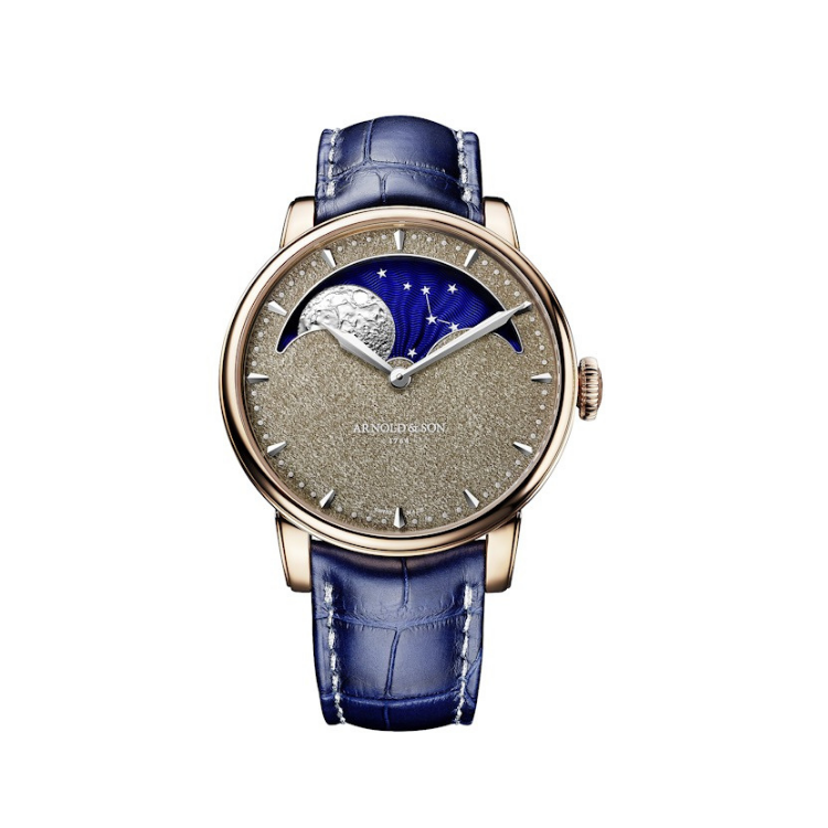 Brand New Luxury  Arnold & Son.  Perpetual Moon