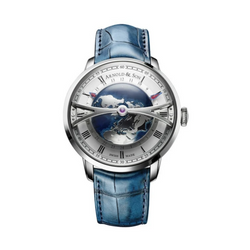 Brand New Luxury  Arnold & Son. Globetrotter DAY Manufaktur