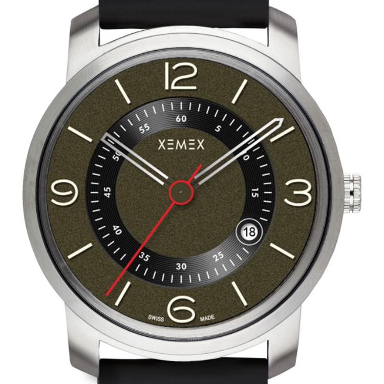 XEMEX SWISS WATCH REF. 880 SECONDO