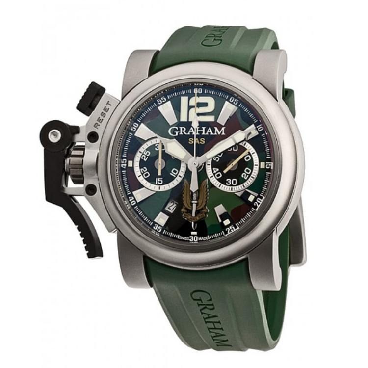 Pre-owned Luxury  Graham  SAS CHRONOFIGHTER