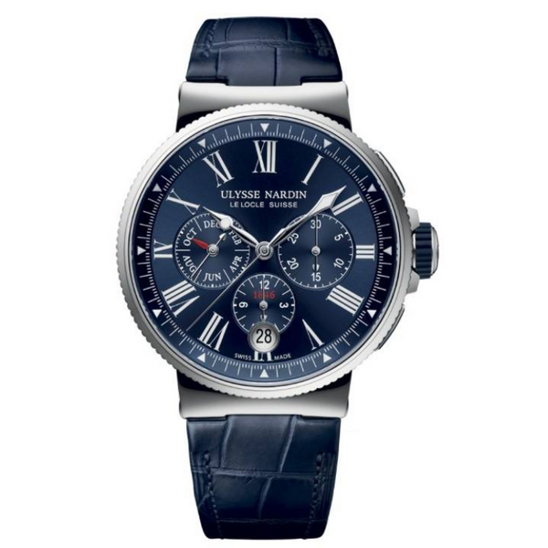New - Luxury  ULYSSE NARDIN 1533-150_43 Anual Calender
