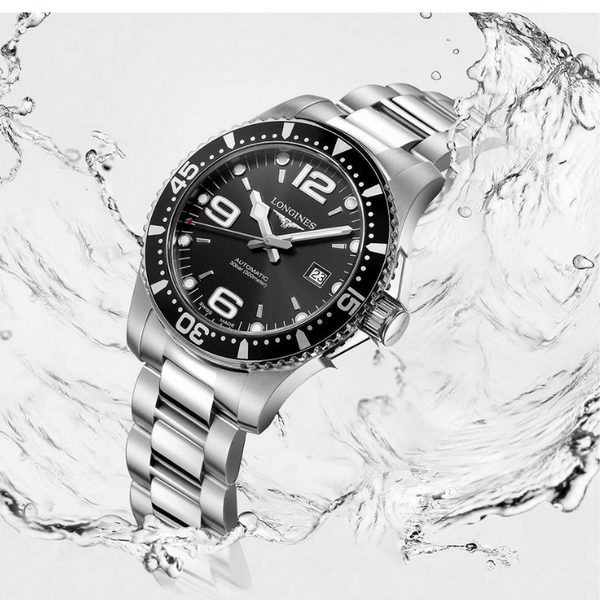 New - Luxury  LONGINES HYDROCONQUEST DIVER L37424566