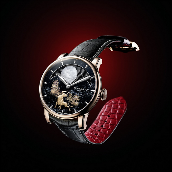 "Brand New Luxury  Arnold & Son  Perpetual Moon ""Year of the Ox""  Limited Edition"
