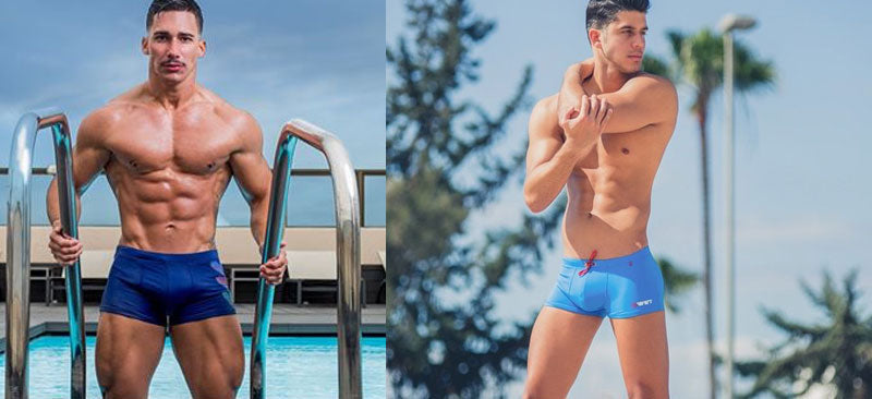 Square Cut Swim Briefs