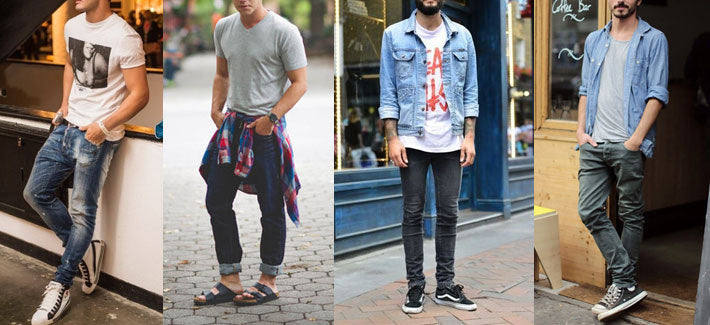 Jeans and T-Shirt, Style, Men's