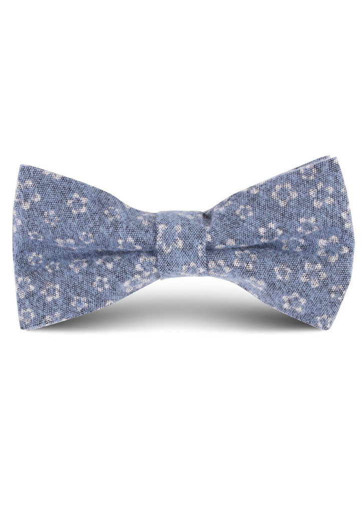 Bloom Bow Tie (Light Blue)