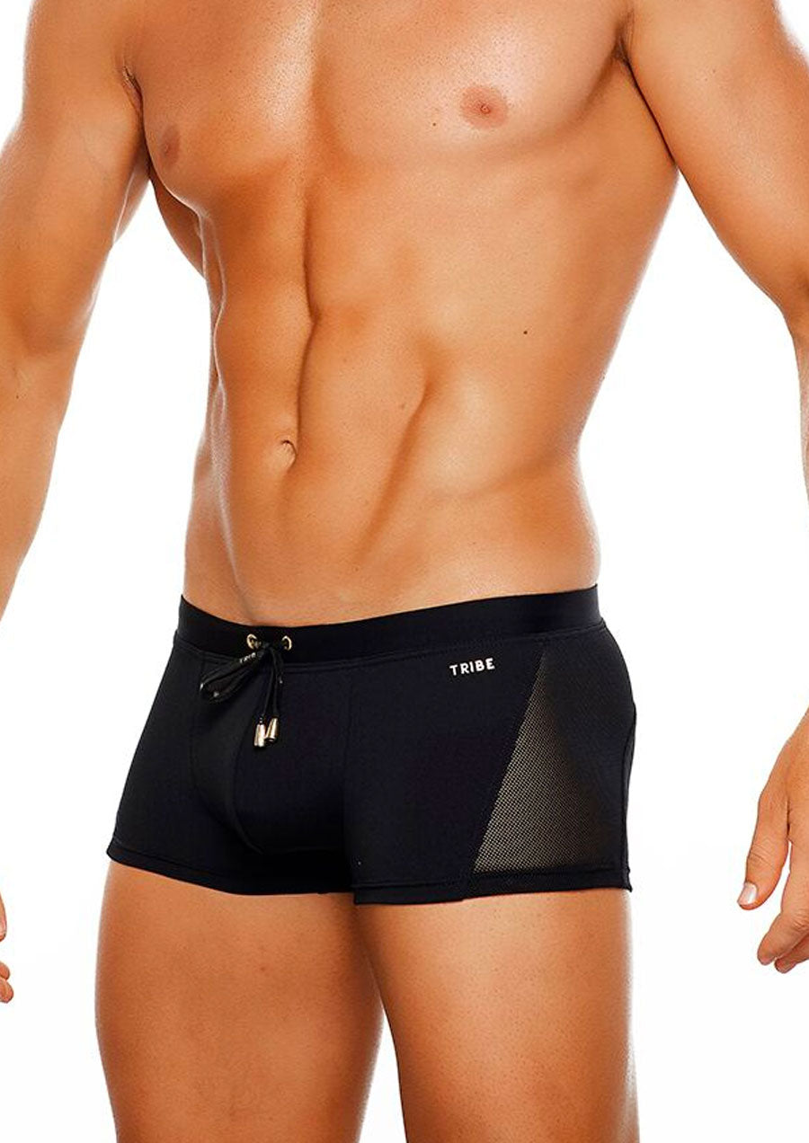 Milan Swim Trunk (Black)
