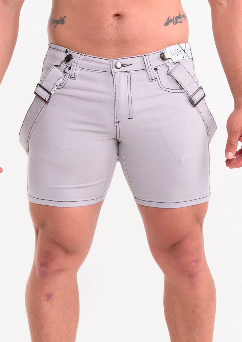 Kon Crete Shorts (Grey)