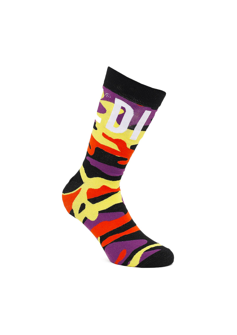 Rainbow Camo Socks (Multi)