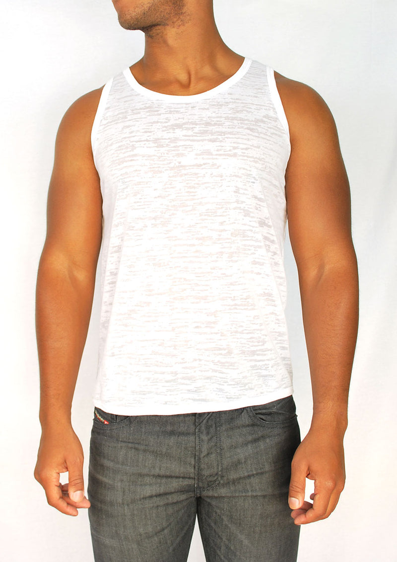 Burnout Tank (White)