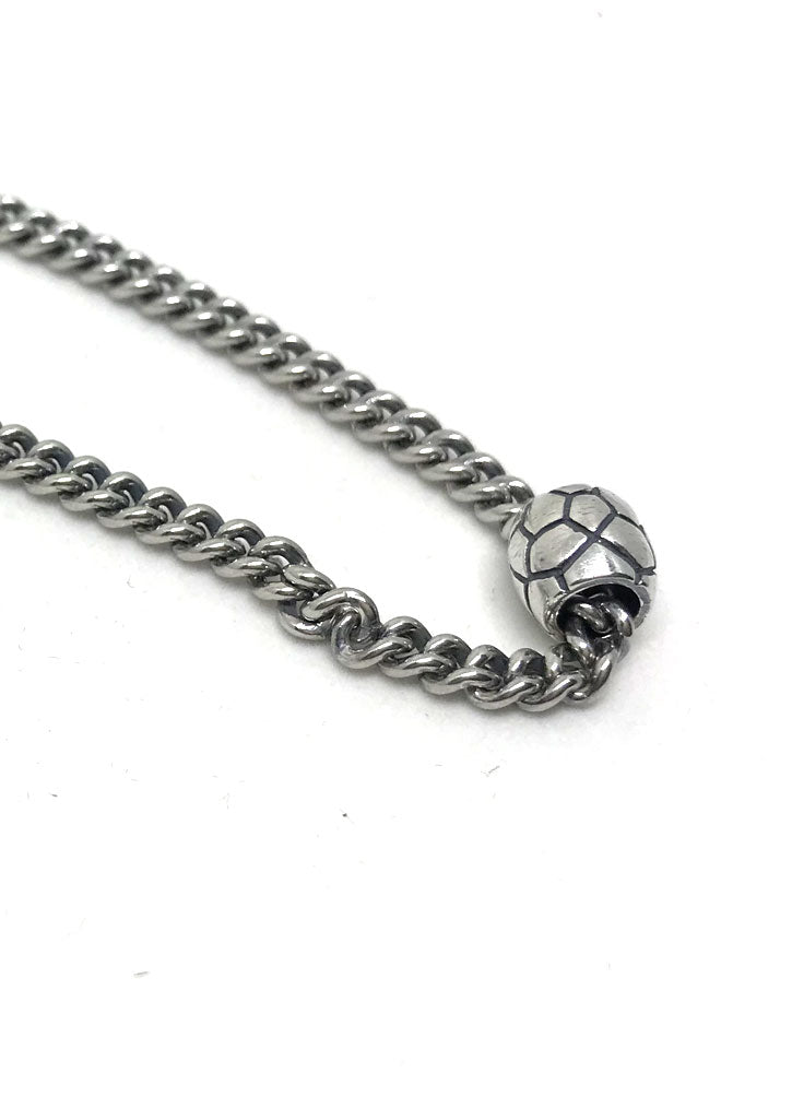 Silver Chain with Slicer Necklace #1341