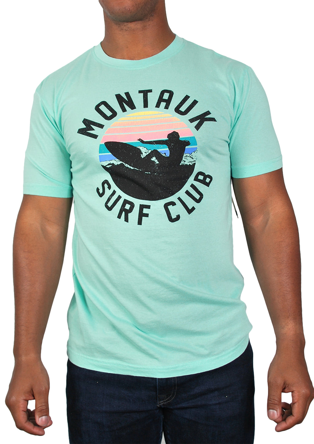 Montauk Surf Club Tee (Mint)