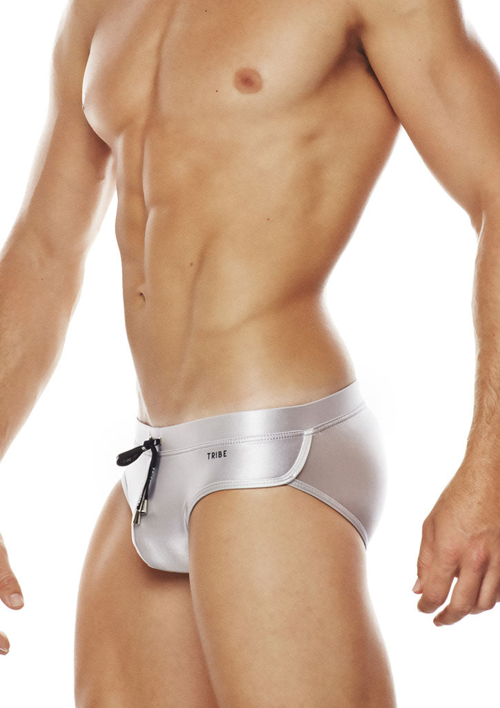 Ibiza Low-Rise Brief (Silver)