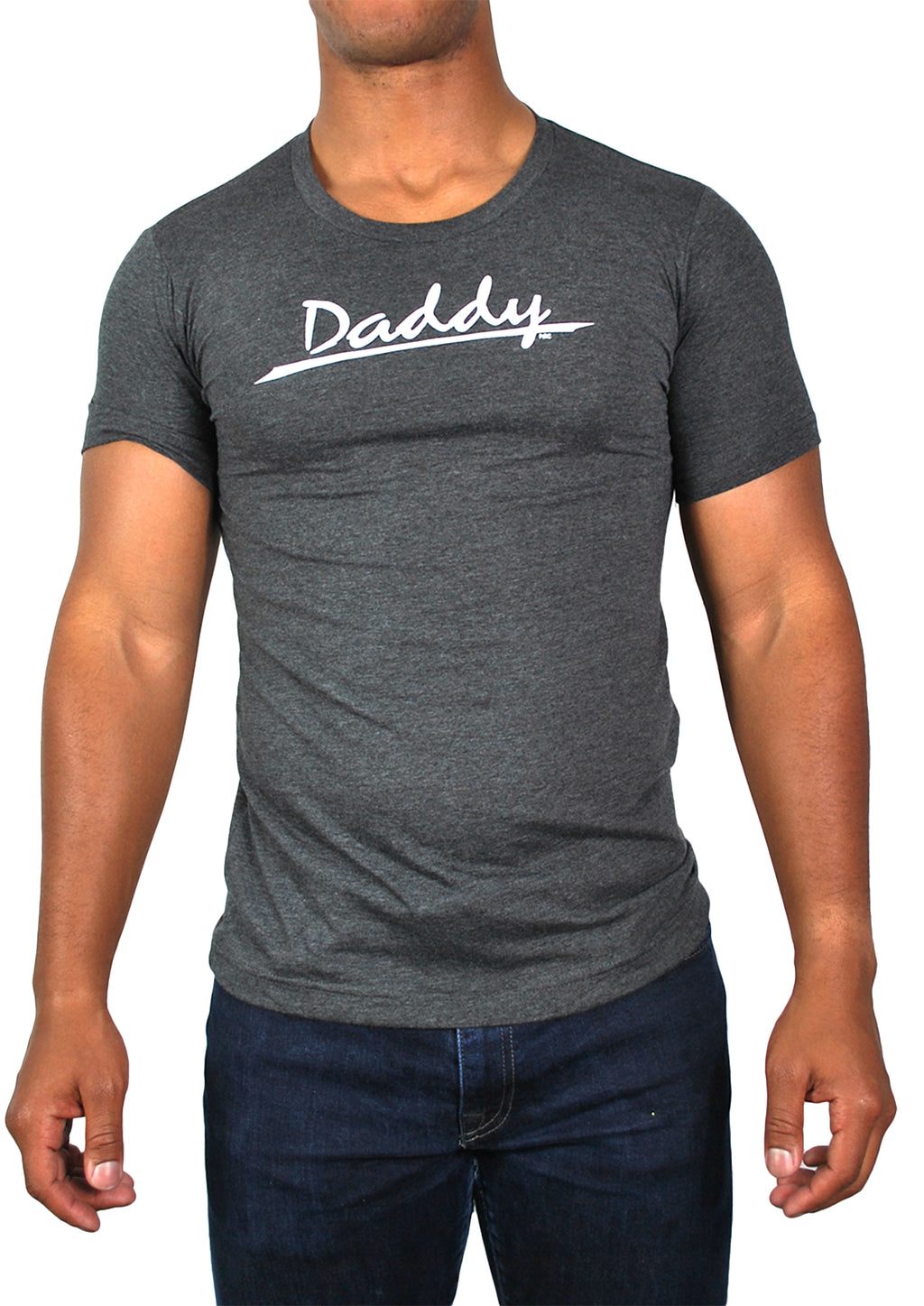 Daddy Tee (Dark Gray Heather)