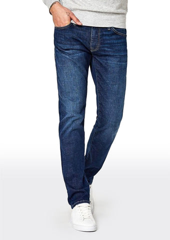 Jake Dark Brushed Cashmere Denim