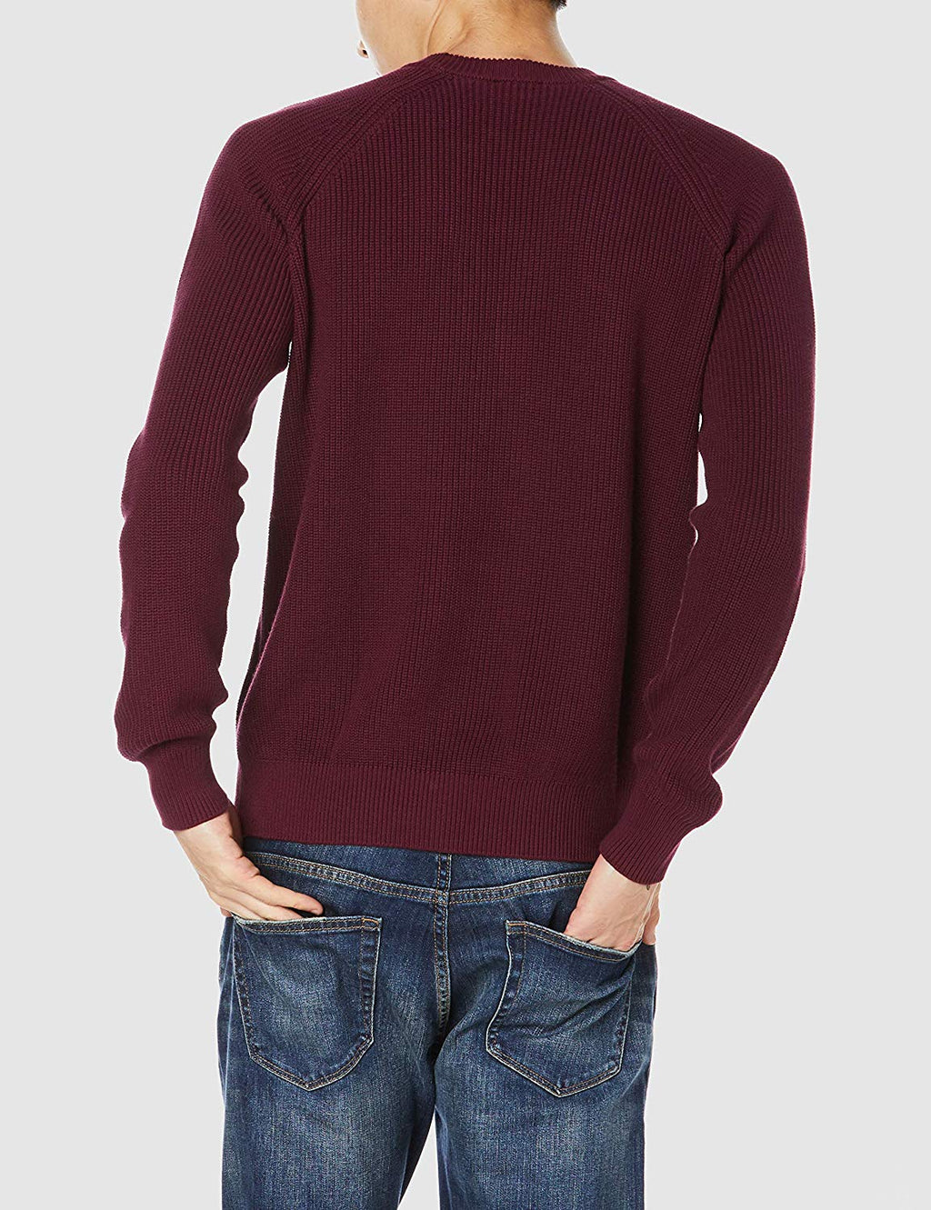 Spin Knit Sweater (Burgundy)