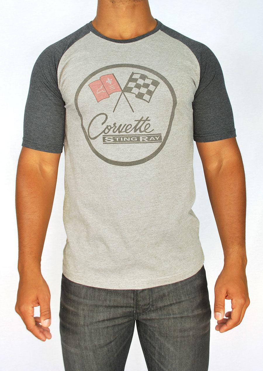 Corvette Faded Raglan (Gray)