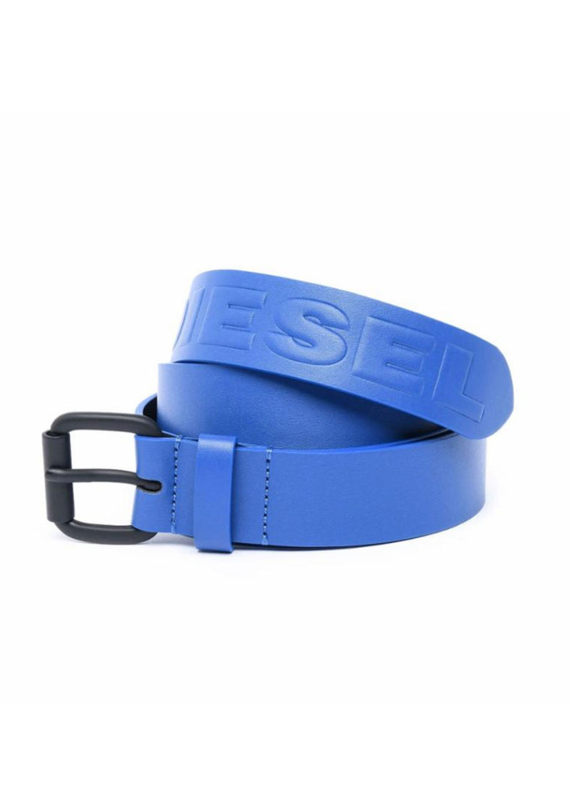Synt Faux Leather Colored Belt (Blue)