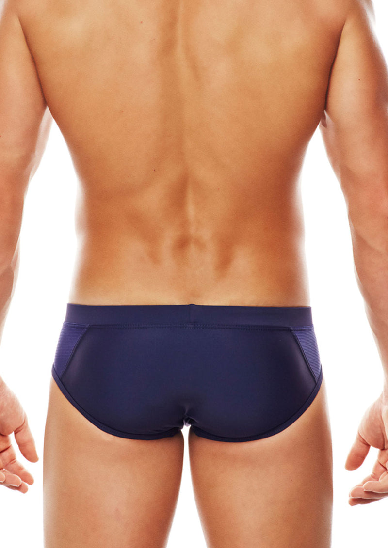 Amalfi LoRise Swim Brief (Navy)
