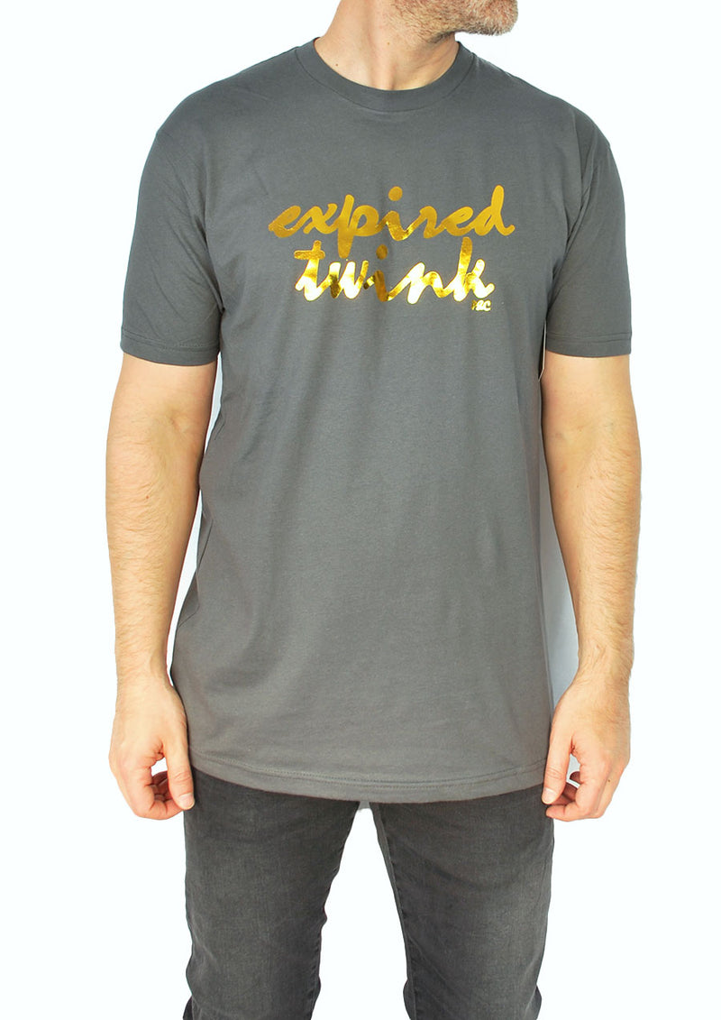 Expired Twink Gold Foil Tee (Grey)
