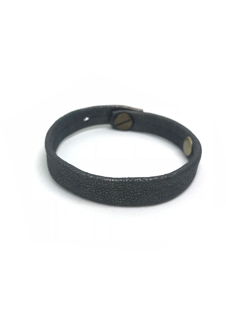 Simple Leather Band Bracelet