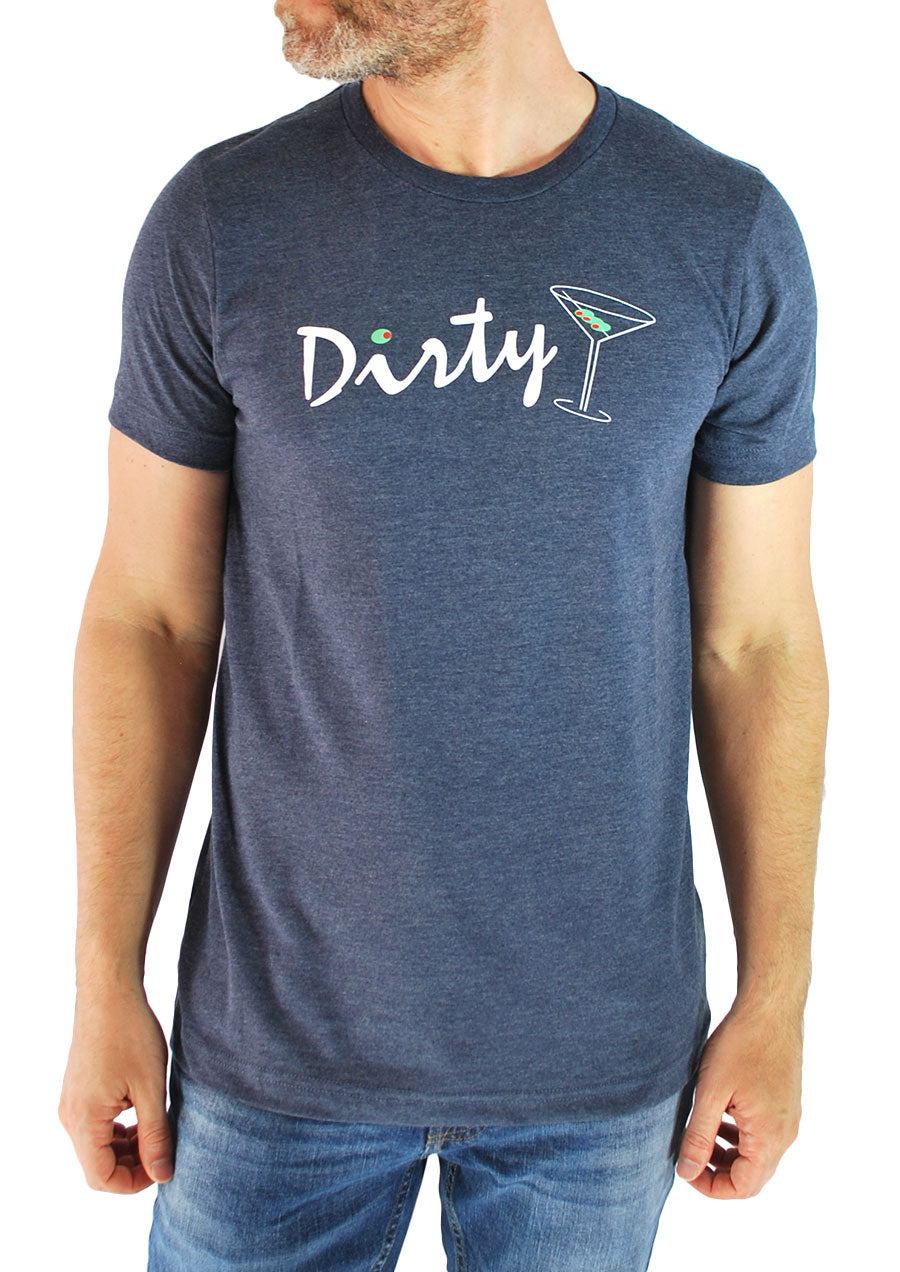 Dirty Martini Tee (Navy)