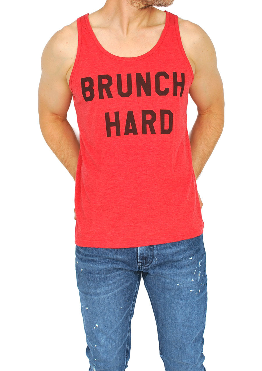 Brunch Hard Tank (Heather Red)