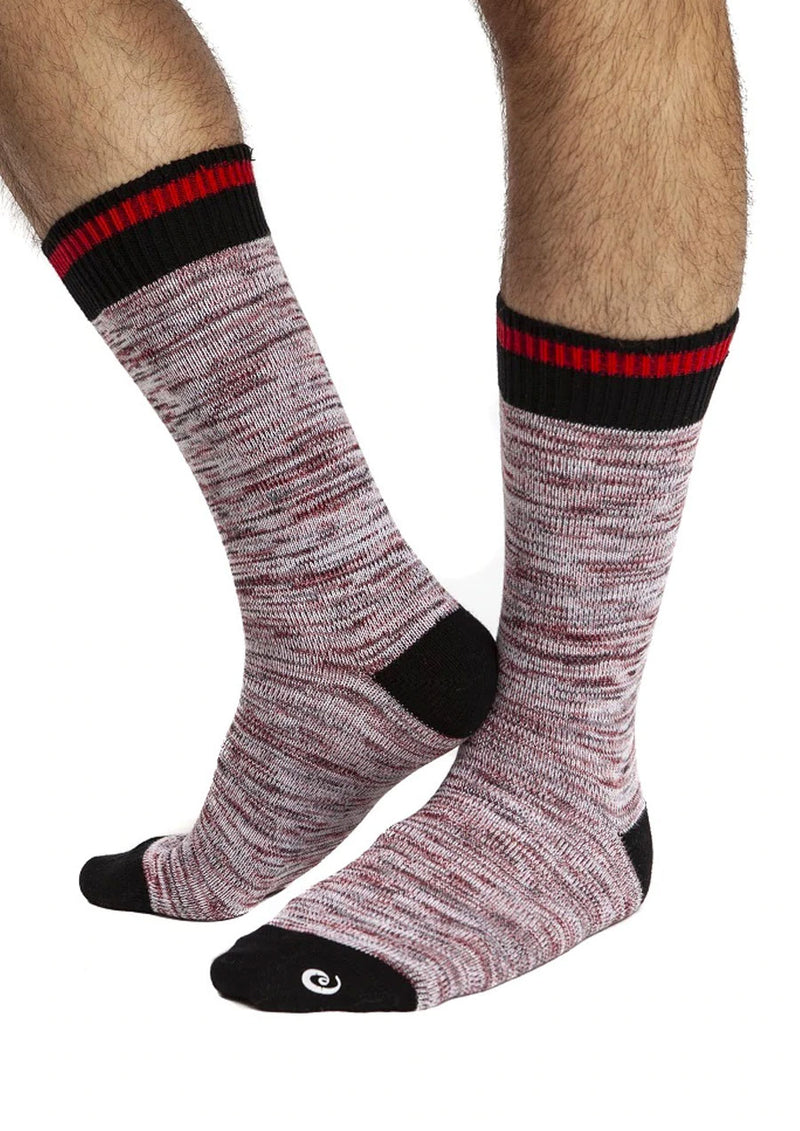 Vintage Athletic Crew Socks